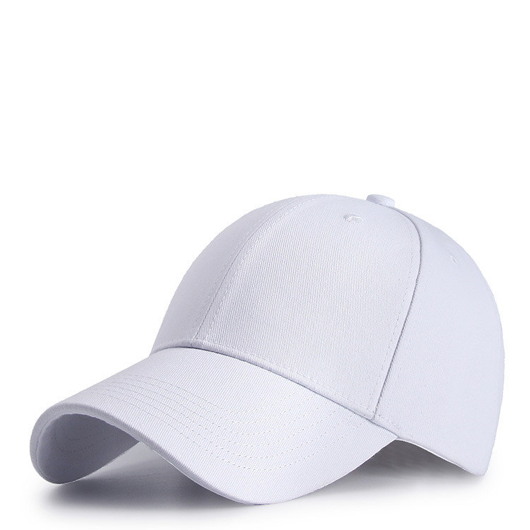 Men Big Head Sun Hats Pure Cotton Golf Hat Adult Good Quality Peaked Cap  Men Logo Customized Solid Color Baseball Cap S M XL-in Baseball Caps from  Apparel ... 7d1e79c8ca7