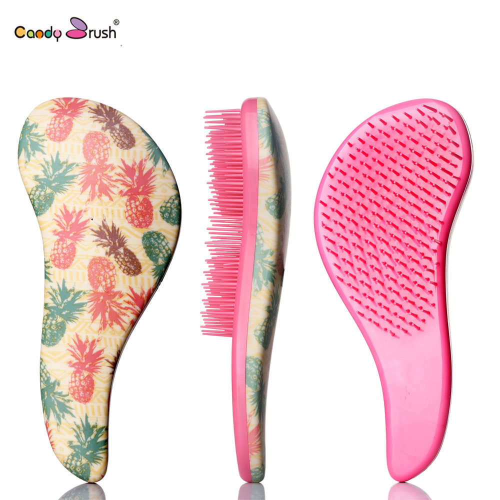 1 PC Large Size  Magic Detangling Hairbrush  Shower Comb Anti-static Massage comb Salon Styling Handle Tamer Tool Combs