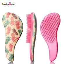 1 PC Large Size  Magic Detangling Hairbrush  Shower Comb Anti-static Massage comb Salon Styling Handle Tamer Tool Combs