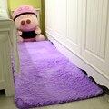 Shaggy hogar tapetes para el dormitorio 50 * 120 cm / 19.68 * 47. 24in