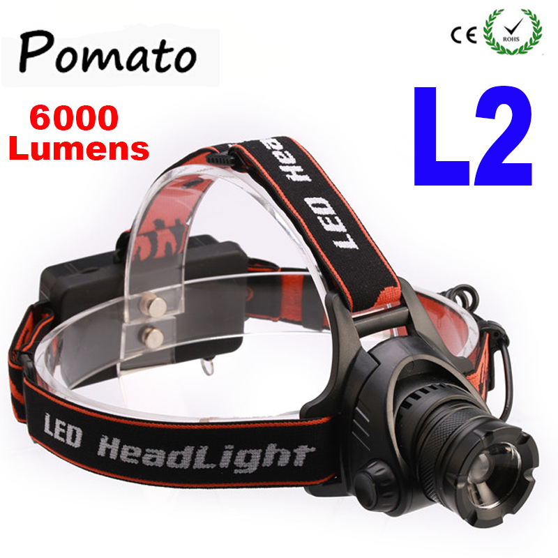The newest XM-L XML L2 LED 6000 Lumens Zoomable Rechargeable LED Headlight / Headlamp Light Flashlight sitemap 54 xml