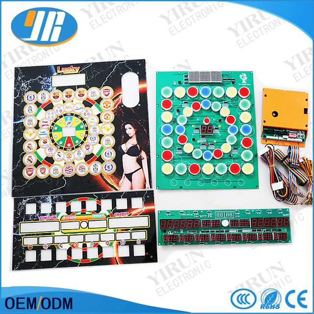 Fruit King World Cup Mario Slot Game Board With Acrylic Panel Wire ...