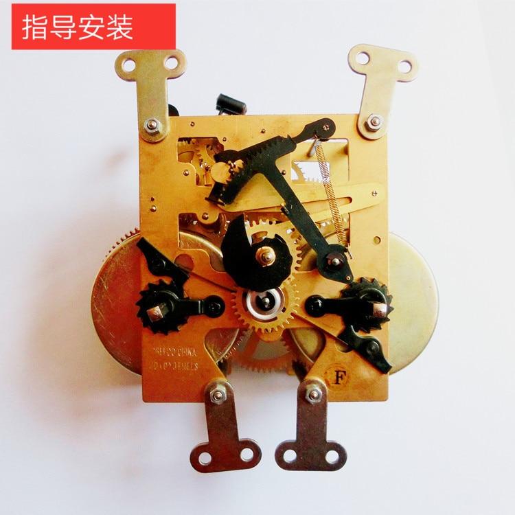 Horloge mécanique accessoires horloge au sol pur cuivre noyau horloge verticale voyage temps assemblage mécanique horloge Maintenanc