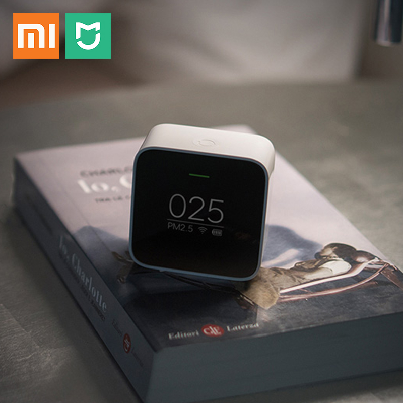 xiaomi mijia PM2.5 detector portable easy read OLED screen PM 2.5 Air quality monitor for home office hotel work Mi Air Purifier