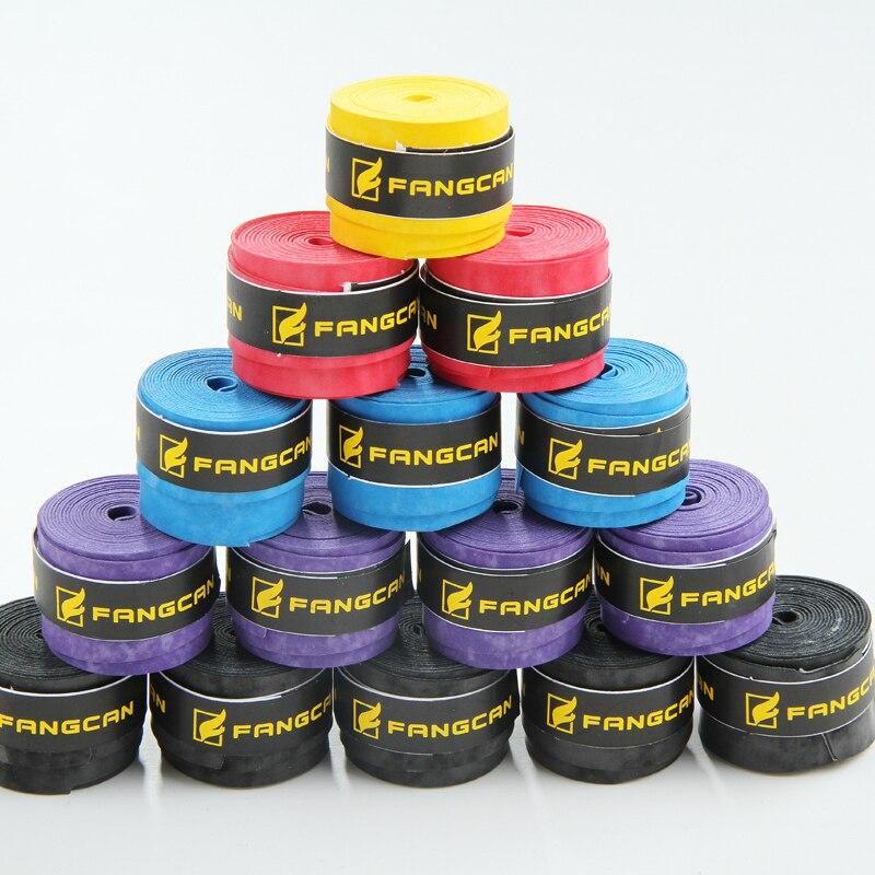 (10pcs / pakiranje) FANGCAN zmrznjeni ročaji visokokakovostni badminton / tenis / squash loparji prijemaki / overgrips puff zrno overgrip