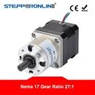 27: 1 Планетарный редуктор Nema 17 Шаговый двигатель 1.68A DIY Робот с ЧПУ 3D-принтер ✔