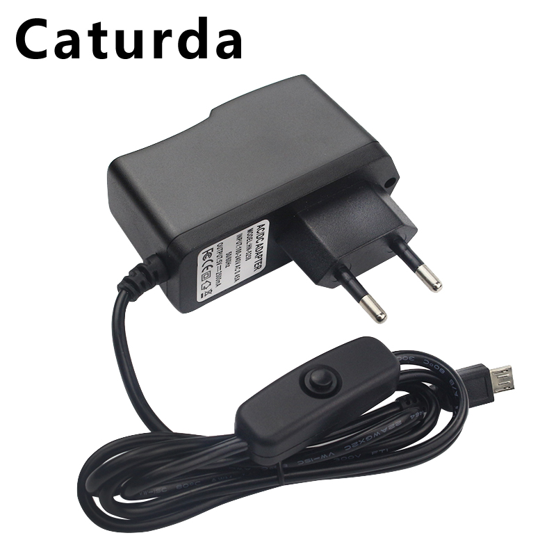5V 2.5A Raspberry Pi 3 Power Supply Charger AC Adapter Micro Cable With ON/OFF Switch For Raspberry Pi 3 Model B+ Plus 3B Pi3