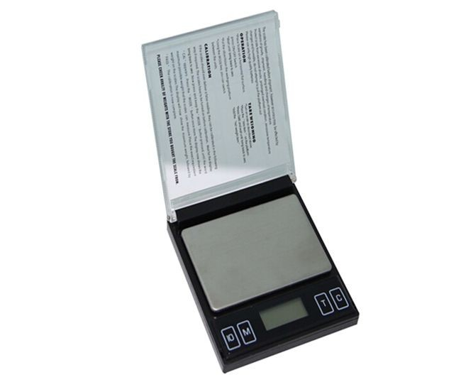 ważenie mini waga cyfrowa maszyna podróż precyzja równowagi - Przyrządy pomiarowe - Zdjęcie 1