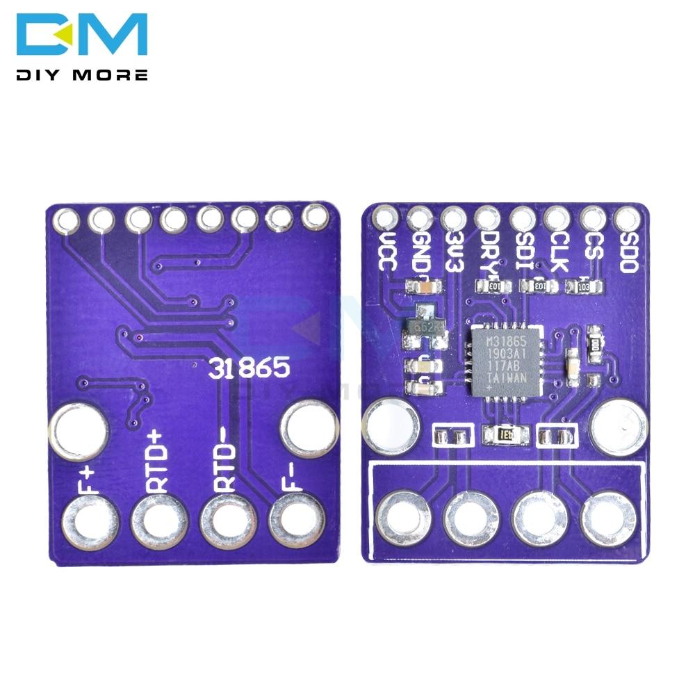 PT1000 MAX31865 RTD Temperature Thermocouple Sensor Amplifier Module For Arduino