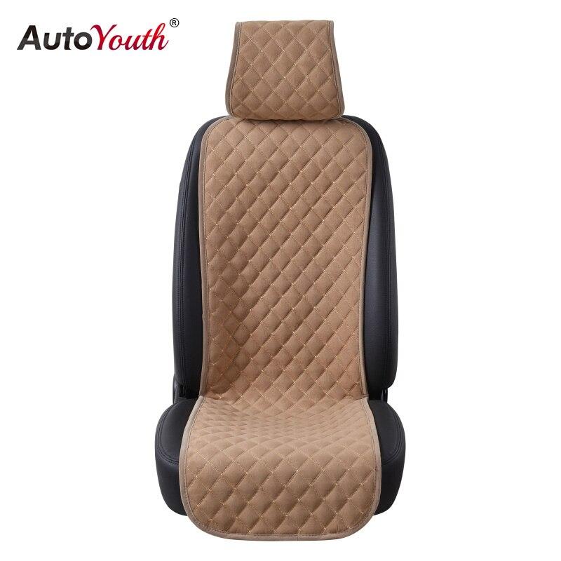 1 PCS Housse de Siège de Voiture Universel Automobile Seat Cover Protector Siège Respirant Non-slip Coussin De Voiture-Style Pad Auto Accessoires