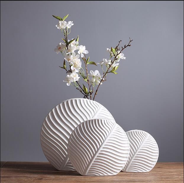 US $19.8 |Nordic style ceramic vase Modern minimalist fashion living room model room flower decoration home decoration ornaments-in Vases from Home & Garden on Aliexpress.com | Alibaba Group