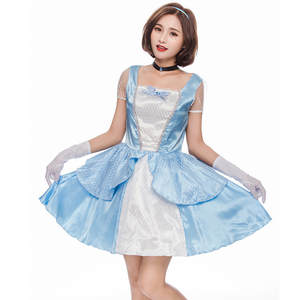 980c3ee5be5 vocole Blue Sexy Girl Lace Party Princess Queen Dress With