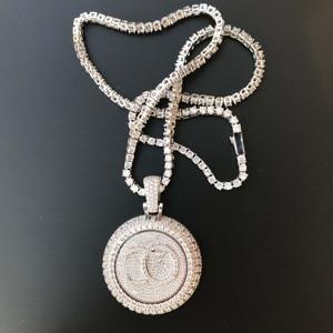 Image 4 - Personal custom spinning pendant gold plating pendant