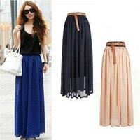 Новая брендовая модная дизайнерская пикантная стильная юбка, женская сексуальная шифоновая юбка ярких цветов, длинная юбка высокого качес...