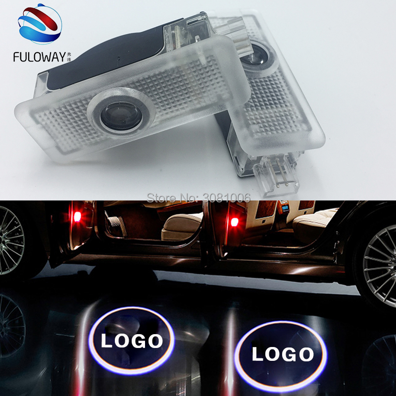 For Mercedes Benz CLA CLSCLA200 CLA220 CLA260 CLS LED Welcome Car Door Courtesy Shadow Logo Lights Projector Laser Ghost Shadow for most cars 2pcs led car door light courtesy logo laser projector punching ghost shadow lamp lights for cadillac logo