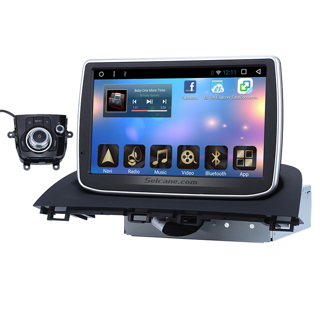 US $660 0 |Android 6 0 GPS Navigation System for 2014 2015 Mazda 3 Axela  Car Radio with Touchscreen WIFI USB OBD2 AUX RDS Bluetooth Music-in Car
