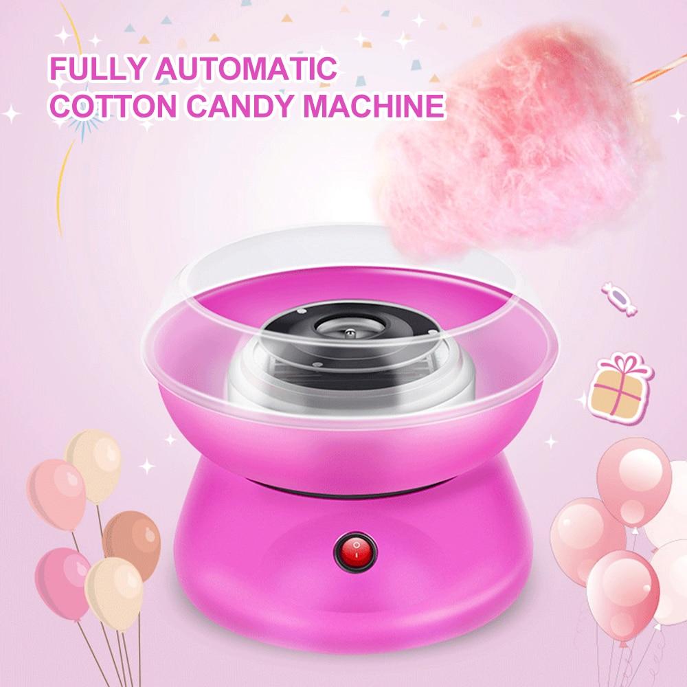 Electric DIY Sweet Cotton Candy Maker Marshmallow Machine MINI Portable Cotton Sugar Floss Machine Sugar Maker Tool Drop Ship