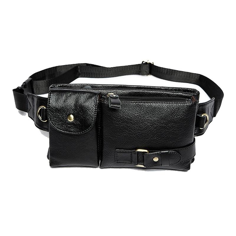 Mva мужские карманы кожаные карманы сумка для телефона Ретро повседневные Карманы