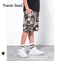 Du lịch ốc 4-9 yrs bé trai shorts cho trẻ em quần áo quần short cho chàng trai trẻ shorts ngụy trang đàn hồi eo 2018 Mùa Hè New
