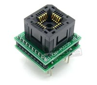 PLCC20 TO DIP20 PLCC 20 IC Test Socket Programming Adapter for PLCC20 Package Chip/MCU