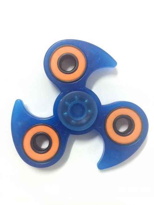 Зеленая светящаяся игрушка-антистресс пластик для развития рук Спиннер для аутизма и СДВГ мини-Спиннер игрушки для пальцев детская игрушка-Лидер продаж, спинер