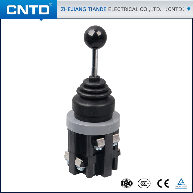 CNTD Waterproof 2 Pole 4 Position Stay put Type Cross Switch with Joystick CMR-302-1 self reset 4p4t 5 position 4 direction joystick monolever switch