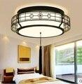 Новый китайский светодиодный светильник для спальни  теплый антикварный круглый Классический светильник для учебы  современный китайский ...