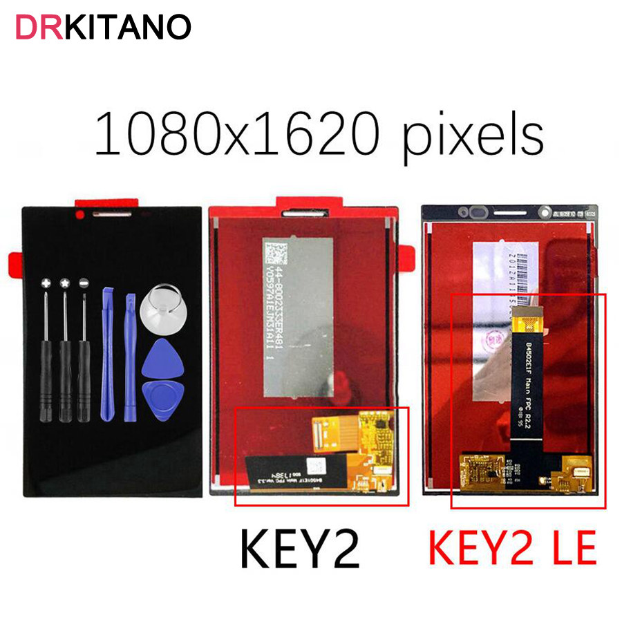 Original LCD For BlackBerry Key2 Display Touch Screen Digitizer For BlackBerry Key2 LE LCD Key 2