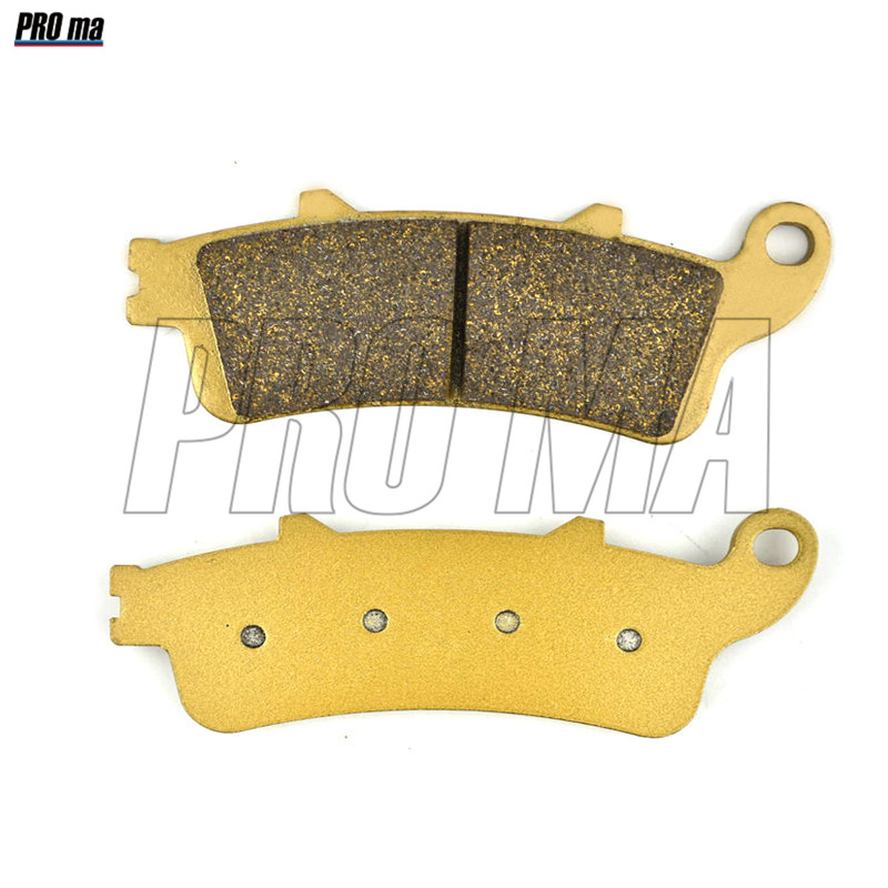 Brake Shoe Pads Set For Honda Sw-t600 Swt600 Sw-t Swt 600 Fjs 600 Ab Abs Model 2011 2012 2013 2014 2015 Brake Disks Motorcycle Accessories & Parts