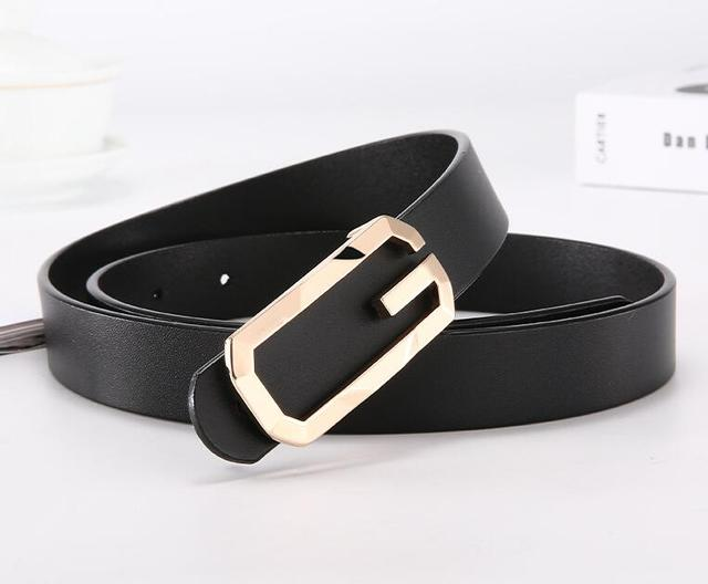 ZPXHYH Women Leather Belt...