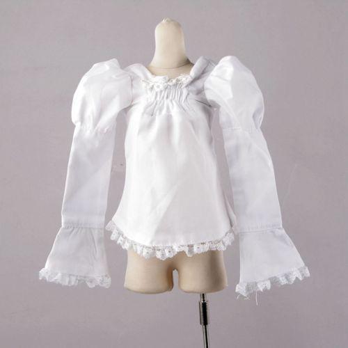 wamami 51 White Clothes Shirt 1 4 MSD DOD BJD Dollfie