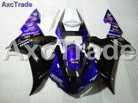 Высокое качество ABS Пластик подходит для Yamaha YZF1000 YZF 1000 R1 2002 2003 02 03 Moto индивидуальный заказ мотоциклов обтекателя Kit Кузов 001
