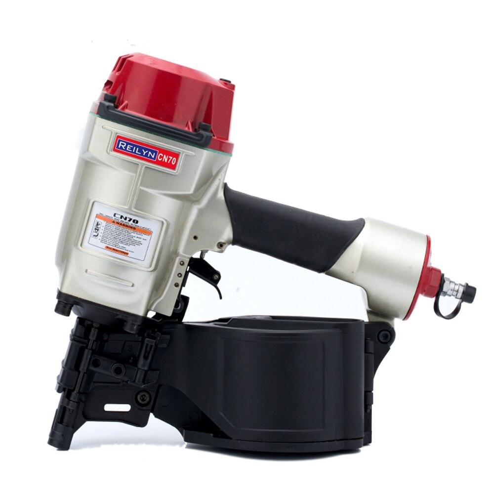 Cn70 Pneumatic Nail Gun Air Coil Nailer Air Nailer For
