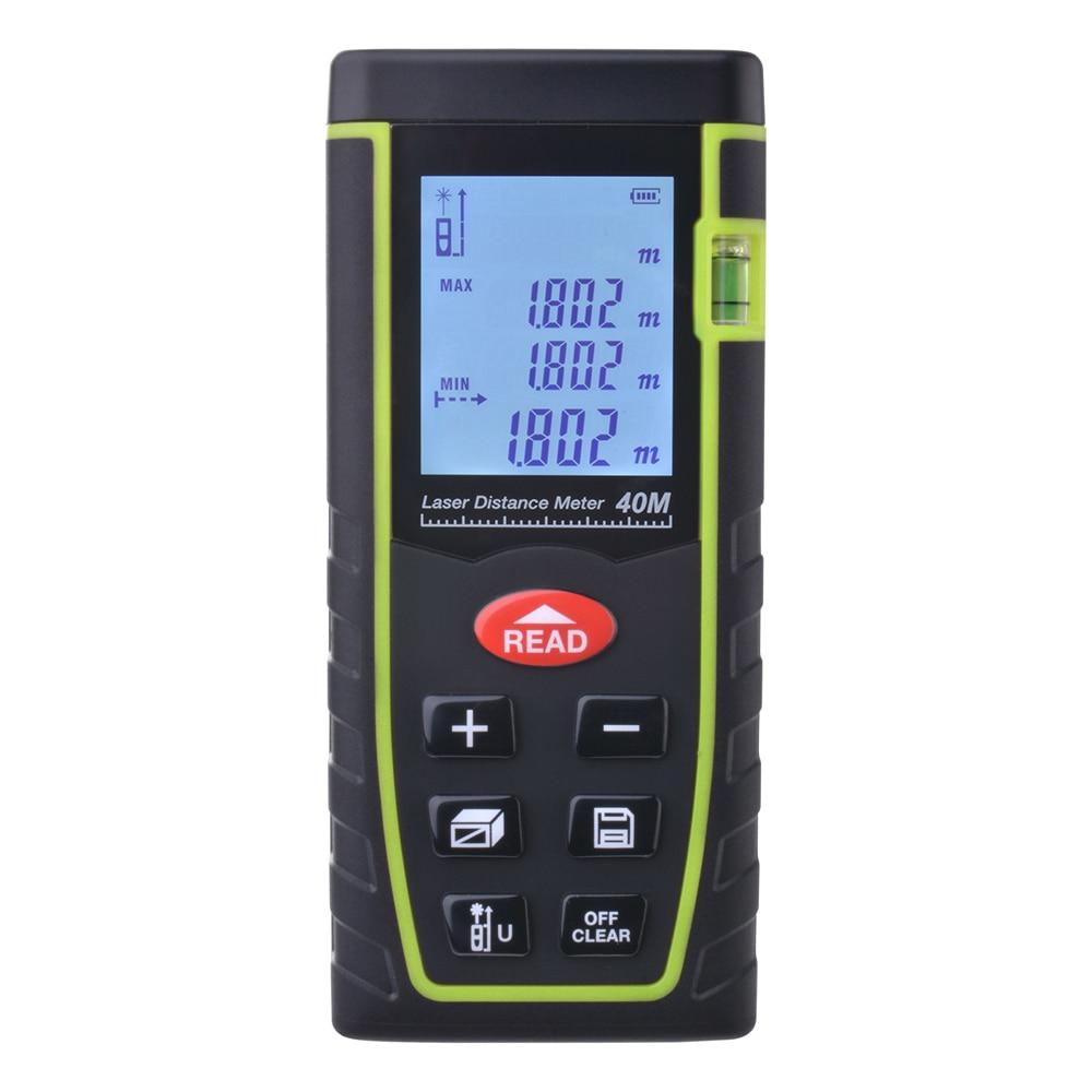 ФОТО 7-Key 40M/80M Digital LCD Laser Distance Meter Range Finder Measure Diastimeter BI529/530