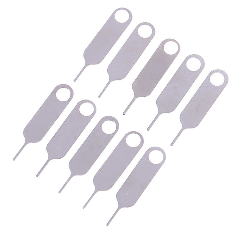 5/10/20/50pcs Smartphone Take Sim Card Remover Tool Pin Needle Replacement Parts High Quality Phone Card Pin