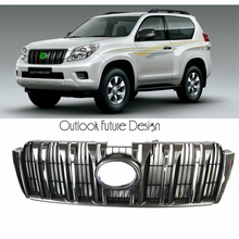Car Styling Auto Parts Front Middle Grill Grille Fit For TOYOTA Land Cruiser Prado Vehicle 2010-2013 year