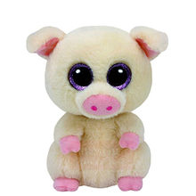 6'' 15cm Ty Beanie Boos Stuffed Animals & Plush Pig Toys Big Eyes Kawaii Gift for Baby Girls Boys Birthday Present S203(China)