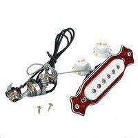 Bán buôn 5X SYDS Đơn Coil Magnetic Acoustic Guitar Pickup