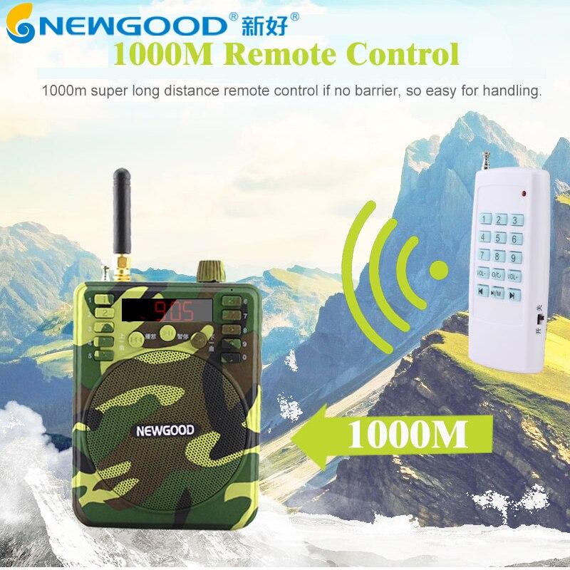 ФОТО 150Db 1000M Remote control Speaker Hunting Speakers Fm Radio Bird Caller Duck Decoy Animal Bird Sound Calls Hunting TF USB Mp3