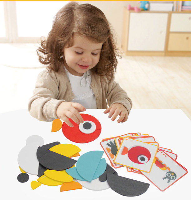 Kids Jigsaw Puzzles with Idea Cards
