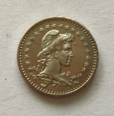 1935 Бразилия 50 Reis Медь-Никель монет