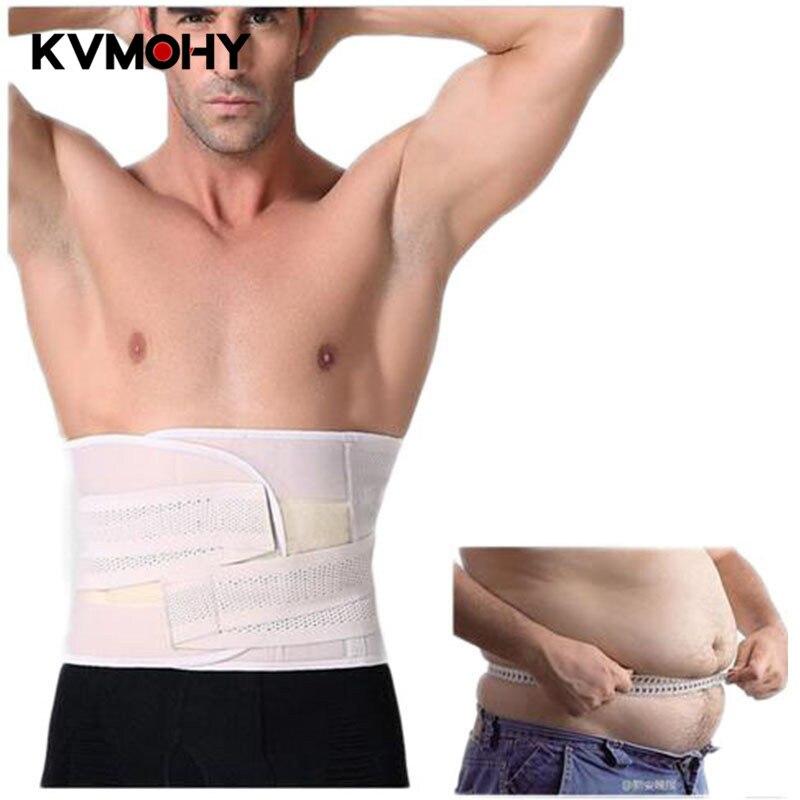 Men Waist Cincher Body Shaper Belt