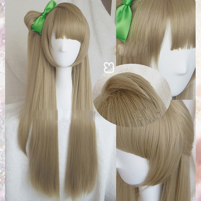 LoveLive! Love Live Cosplay Wig Kotori Minami Costume Play Adult Wigs Halloween Anime Hair + wig cap