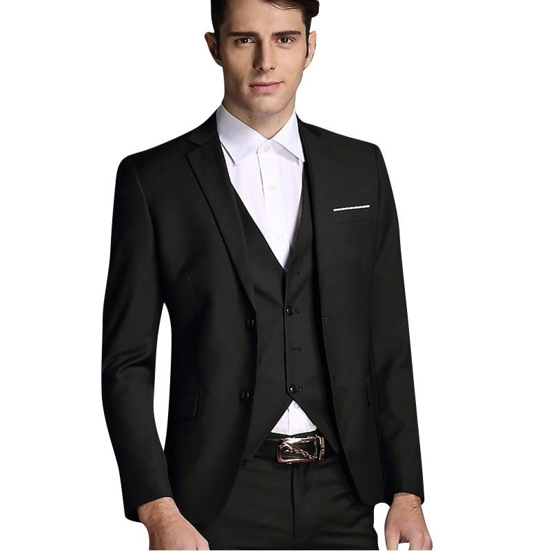2016 New Arrival Men Blazer Jacket Casual Slim Business Dress Suits Blazers Wedding Dress Mens ...