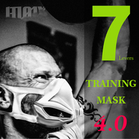AGEKUSL Sports Training Mask 4.0 Cycling Face Mask Fitness Workout Gym Exercise Running Bike Bicycle Mask Elevation Cardio Mask