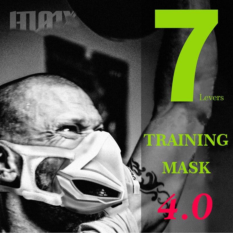 AGEKUSL Sports formation masque 4.0 cyclisme visage masque Fitness entraînement Gym exercice course vélo vélo masque élévation Cardio masque
