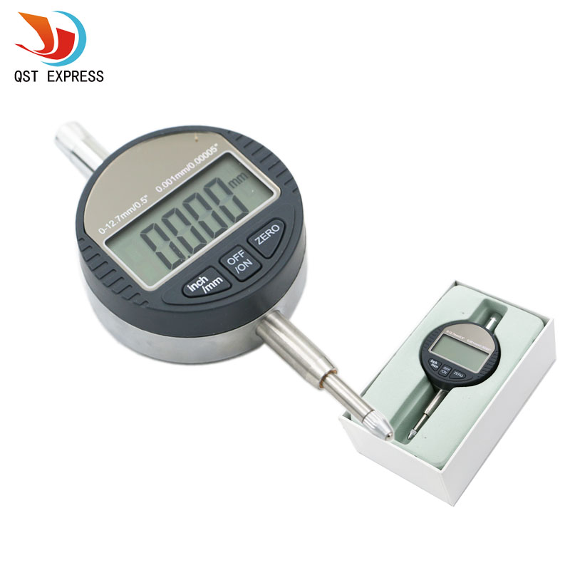 0.001mm Electronic Micrometer 0.00005 Digital Micrometro Metric/Inch Range 0-12.7mm/0.5 Dial Indicator Gauge With Retail Box 0 001mm 00005 digital indicator range 0 25 4mm 1 gauge