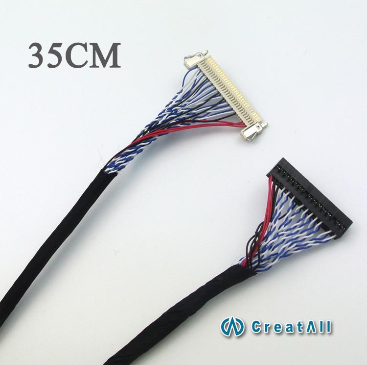 30-pin plug-in double-8-screen line FIX-30P-S8 common screen line extended section 35cm
