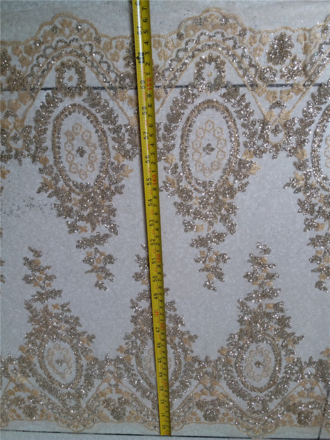 Glued glitter sequins lace for trim Lace Decoration Trim for veils  fashionable Wedding lace Dress Fabric 4079f1fa909f