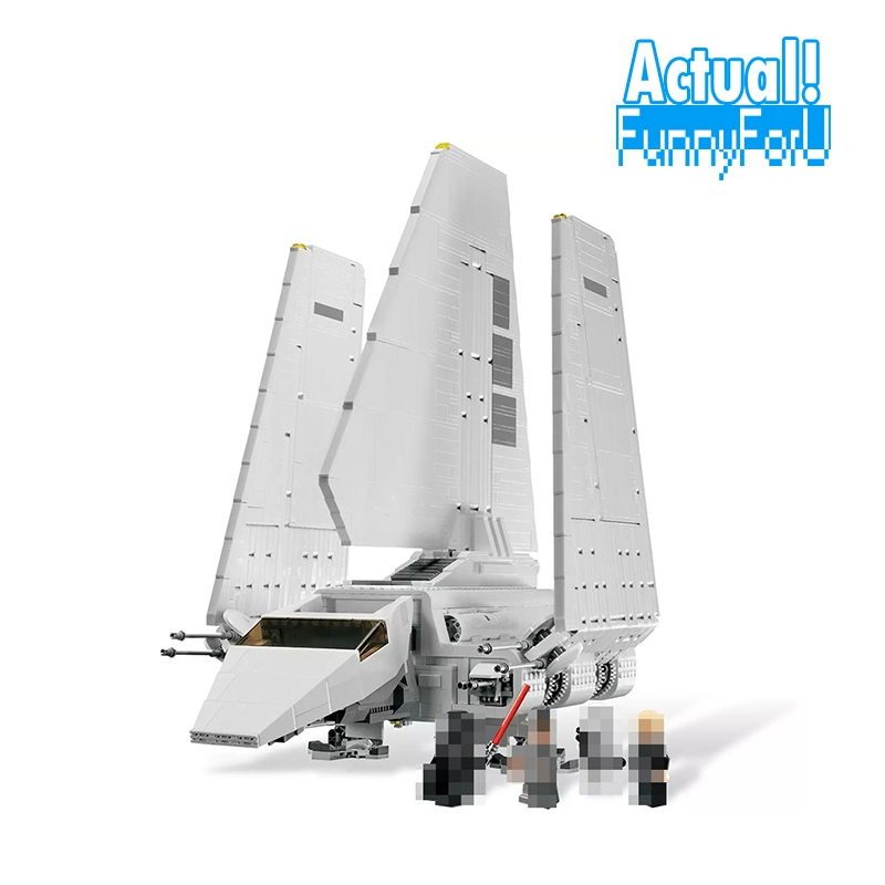 NEW 2503 Pcs Star 05034 Series Wars The Imperial Shuttle Building Blocks Bricks Assembled DIY Toys 10212 Gifts lepin lepin 05034 star series war the shuttle building assembled blocks bricks diy educational classical toys compatible with 10212